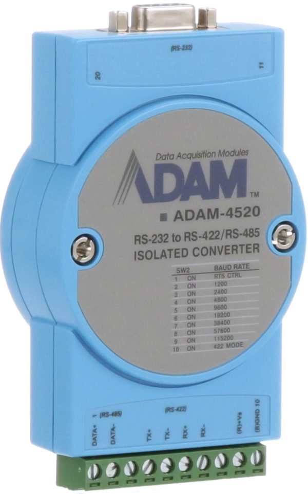 ADAM-4520 RS-232 to RS-422/485